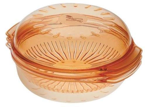 Whirlpool STM006- Vaporera Redonda microondas color