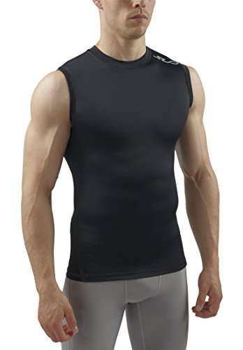 Sub Sports Men's Semi-Kompression, Wärme Stay Cool Sleeveless Base Layer schwarz schwarz xxl