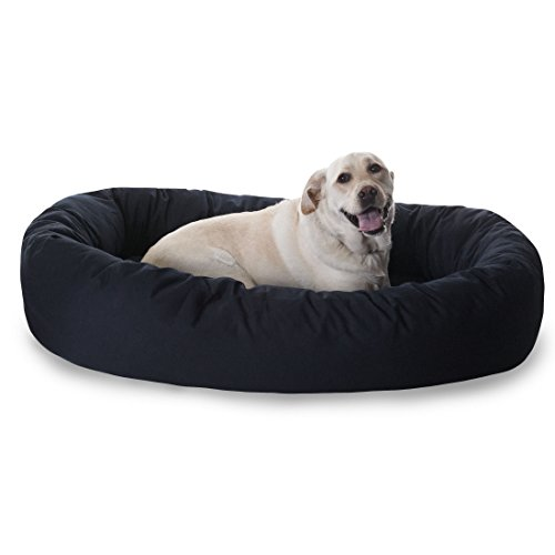 majestic-pet-hundebett-in-bagel-form-10160-cm-schwarz-von-majestic-pet-products