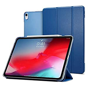 Spigen Smart Fold (Version 2) Designed for Apple iPad Pro 12.9 Case (2018) - Blue