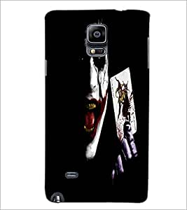 PrintDhaba Joker D-2271 Back Case Cover for SAMSUNG GALAXY NOTE 2 (Multi-Coloured)