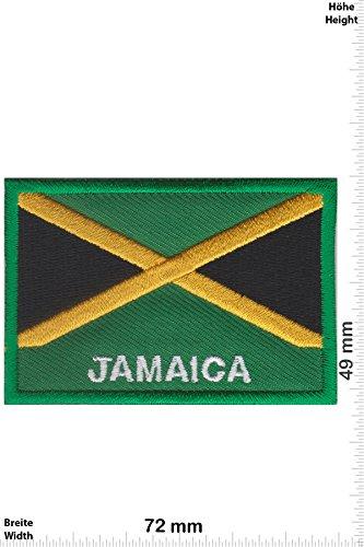 Parches - Jamaica - Flag -Países - Parche Termoadhesivos
