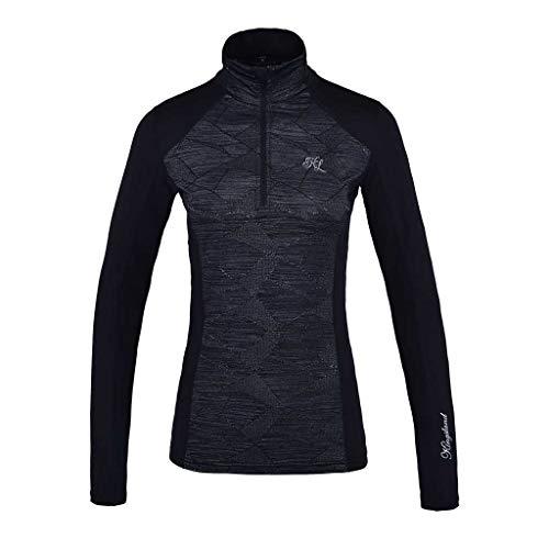 Kingsland Damen Trainingsshirt KLkiana, schwarz, Größe:S