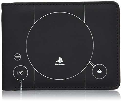 Official Sony PlayStation Console Blue Print Wallet [import anglais]