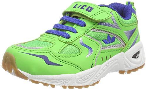 Lico Unisex-Kinder BOB VS Multisport Indoor Schuhe Gruen/Blau, 36 EU
