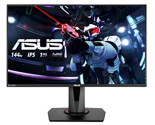 ASUS VG279Q 68,68 cm (27 Zoll) Full-HD Gaming Monitor, 144Hz, FreeSync, 3ms Reaktionszeit, DVI, HDMI, DisplayPort) schwarz