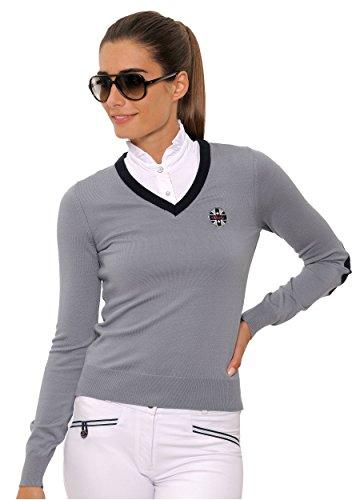 SPOOKS Pullover Mila Pullover grey Größe S