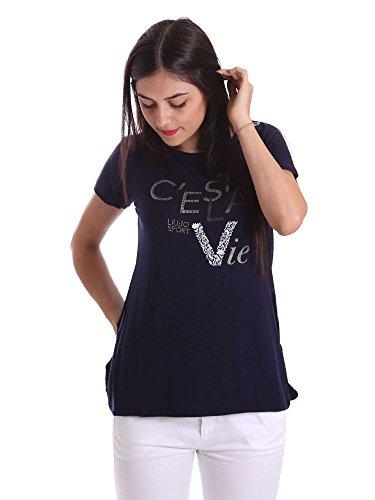 Liu-jo T17089J9140 T-shirt Frauen Blue