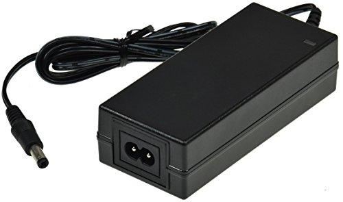 Universal Stecker-Netzteil 230V auf 12V Netzteil mit 1,2M Kabel Für LED Stripe Notebook Reader Lampen Leuchten 12V= / 48Watt / 4A, Schwarz -