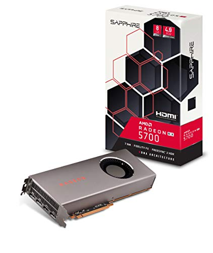 Sapphire Radeon RX 5700 8GB GDDR6 HDMI/Triple DP (UEFI) PCI-E Graphics Card