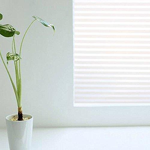Casement-fenster (mark8shop 45x 150cm Abnehmbare Frosted Fenster Aufkleber Glas Streak Tabelle Fensterflügel Film)