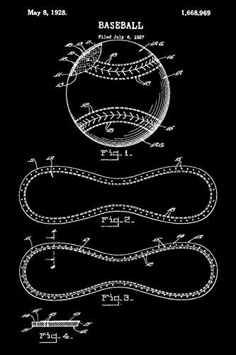 Baseball: Game Log - Vintage Baseball Player Ball Journal (Blank Lined Notebook) por Baseball Player Designs