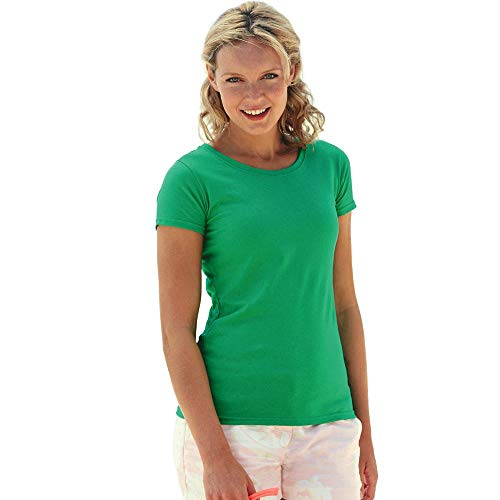 Fruit of the Loom Damen Valueweight T Lady-Fit 61-372-0