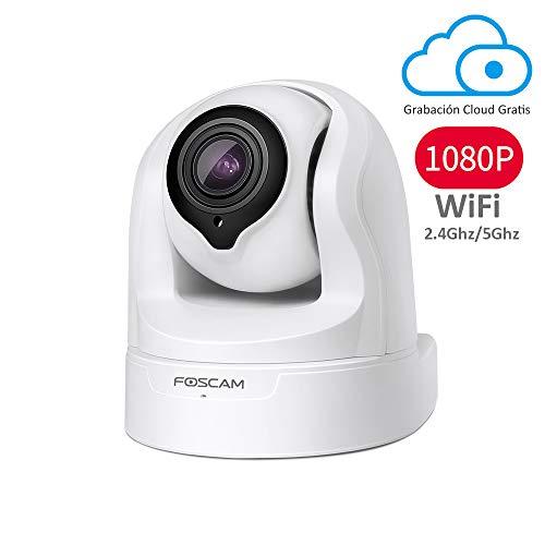 Foscam FI9926P 1080P Pan/Tilt/Zoom 2.4 / 5Ghz Cámara