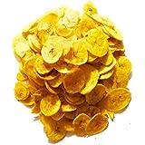 KING's BITE Fresh Home Made Kerala Banana Chips (1 Kg)-Pack of 2