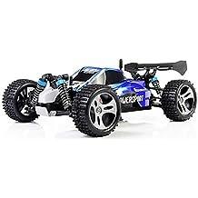 Yacool ® WLtoys A959 RC Car 4WD Eje de transmisión Camión de alta velocidad carreras off-road buggy azul
