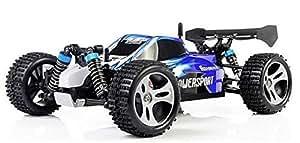 Bheema WLtoys A959 Rc Car 1/18 2.4GH 4WD Off-Road Buggy - Blue