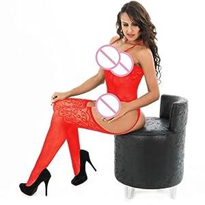 Meilleure vente! Subfamily Lingerie Translucide Chaussettes à dossier ouvert sexy femme grande taille