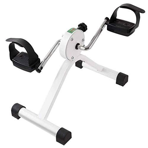 A&DW Ejercitador de Pedales: Mini Bicicleta de Ejercicios para Usar Mientras está Sentado en una Silla, caminadora Paso a Paso Cardio Twister Fitness
