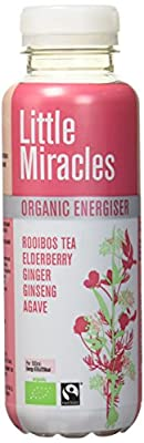 Little Miracles Infusion de Fruit et de Thé Rooibos Bio 330 ml - Lot de 3