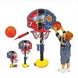 Questquo Children Outdoor Toy Basketball Sport Set Adjustable Basketball Stands
