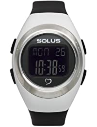 Solus Unisex Digital Watch with LCD Dial Digital Display and Black Plastic or PU Strap SL-800-205