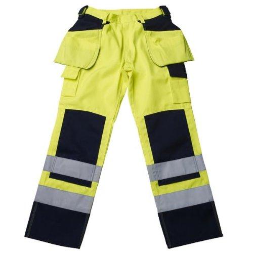Mascot Pantalon d'artisan Almas 09131 Jaune/Bleu marine