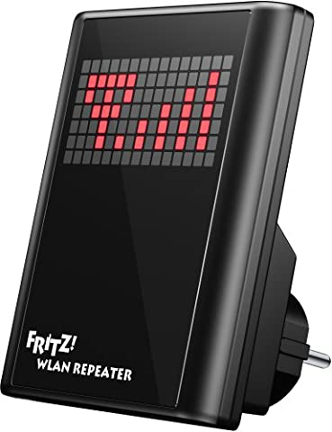 AVM FRITZ!WLAN Repeater N/G (300 Mbit/s, Audioausgang analog/digital, WPS)