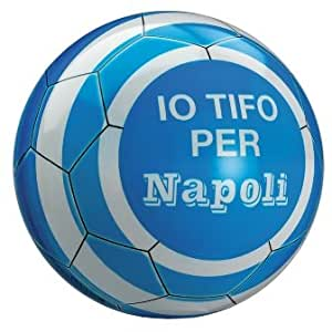 Mondo 02019 -  Pallone Da Calcio D.230 Squadre Napoli Io Tifo