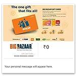 Flat 5% off at checkout||Big Bazaar Digital Voucher