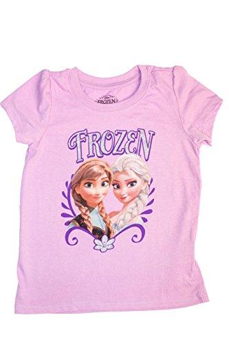 Frozen T-Shirt mit Elsa & Anna Gr??e 4T Kleinkind (Anna Frozen Shirt Kleinkind)