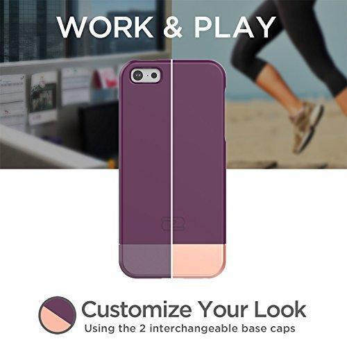 iPhone SE Case, Encased (SlimShield Series) Ultra Thin Hybrid Cover (Royal Purple) Royal Purple