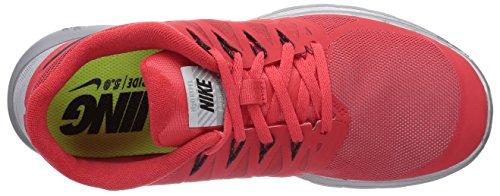 Nike Free 5.0 Flash 685168 Unisex-Erwachsene Laufschuhe Training Rot (Action Red/Black-Reflect Silver-Wolf Grey)
