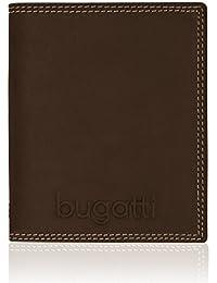 Bugatti Caracas Portefeuille vertical 493.425 cuir 10,5 cm avec compartiment rabattable et compartiment à fermeture éclair