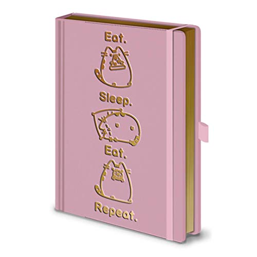 Pusheen - Cuaderno A5 Premium Eat. Sleep. Eat. Repeat.