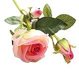 TianranRT Künstliche Gefälschte Rosen Flanell Blume Braut Blumenstrauß Hochzeit Party Zuhause Dekor C. (C)