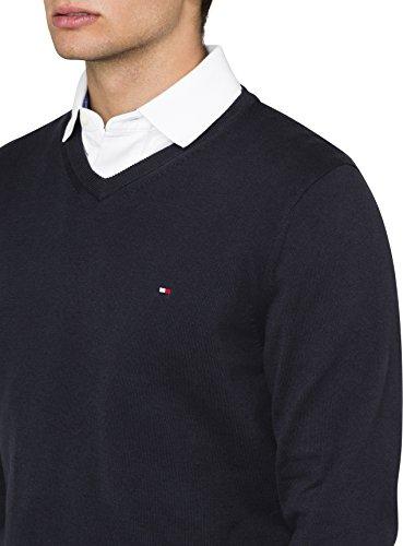 Tommy Hilfiger Herren Poloshirt Pacific V-Nk Black 060