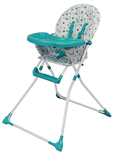 Bebe Style Foldable 'Ez 123' Highchair Bubbles 41gPETcf2ML