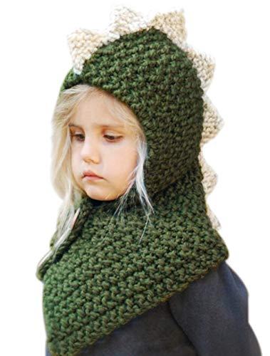 Tacobear Winter Hat Knitted for Kids Beanie Hats Scarf Handmade Crochet for Boys Girls Cute Earflap Hat for Children