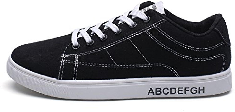 Uomini scarpe casual match studente scarpe casual espadrilli,bianco espadrilli,bianco espadrilli,bianco e nero,43 | New Style  200fb0