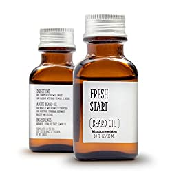 Fragrance Free Beard Oil - Pure Jojoba/Argan Oils