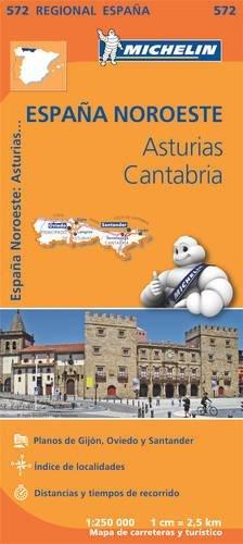 Mapa Regional Asturias, Cantabria (Carte regionali) por Vv.Aa