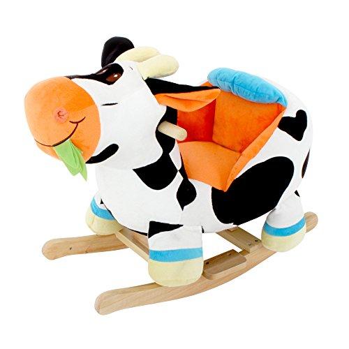 MGM - 054513 - Jouet d'Eveil - Vache à Bascule Sonique