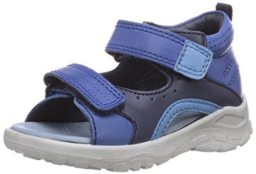 Ecco Peekaboo, Baby Jungen Lauflernschuhe, Blau (Cobalt/Marine Firefly59099), 24 EU