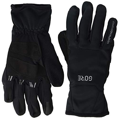 GORE WEAR M Windstopper Thermo Handschuhe, Black, 8