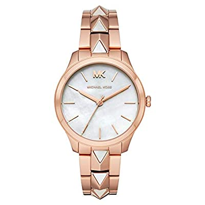 Michael Kors Reloj Analógico para Mujer de Cuarzo con Correa en Acero Inoxidable MK6671