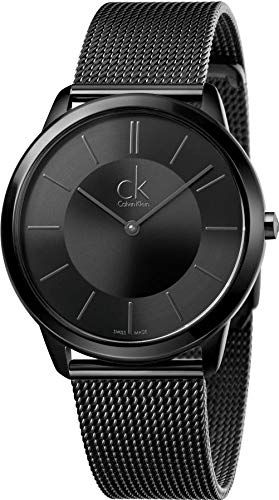 Calvin Klein Men's Analogue Quartz Watch with Stainless Steel Strap K3M214B1