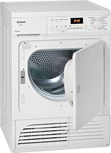 Bomann WTK 5800 Kondenstrockner / B / 8 kg / weiß