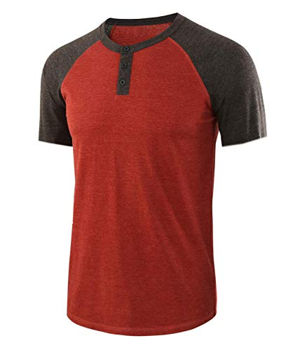 Einfarbiges Rundhals-T-Shirt für Herren mit V-AusschnittHerrent-Shirt 05 S
