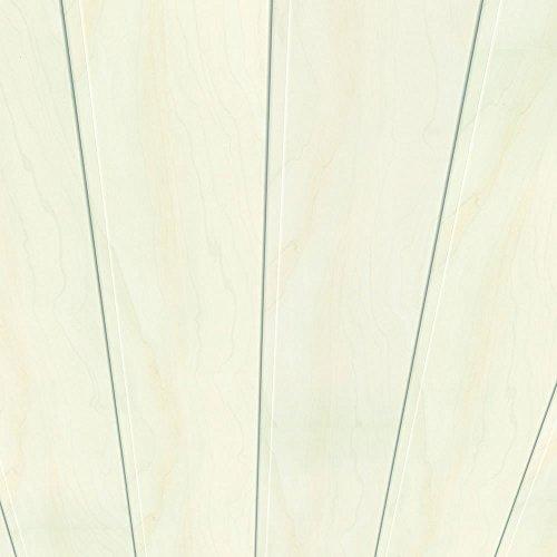 Swing-panel-system (Swing Line Wandpaneel und Deckenpaneel Birke weiss 2600 x 168 x 10 mm)